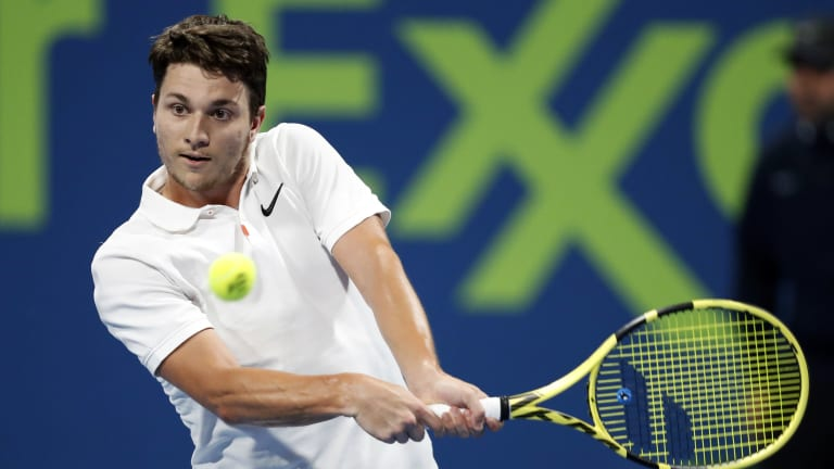 Excited Kecmanovic upsets Tsonga in Doha for third career Top-30 win