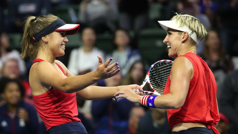 Peace, Kindness & Tennis—Charleston draft reunites Kenin, Mattek-Sands
