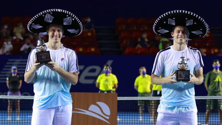 Acapulco marked the Skupski brothers' first tour-level triumph since winning Budapest in April 2019.