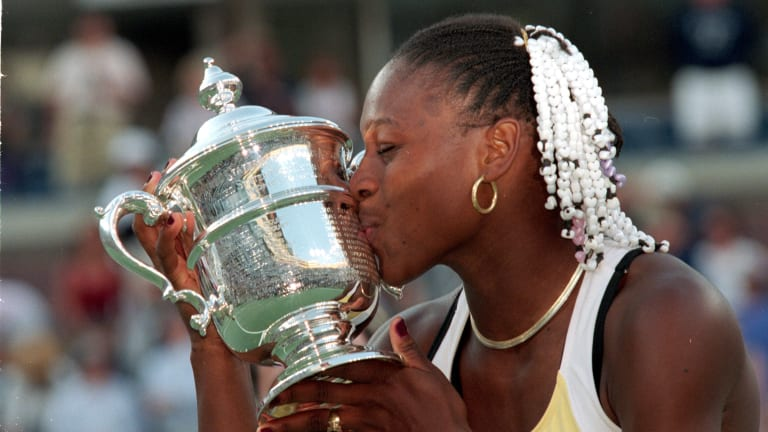 Williams has gone on to win her home major six times, most recently in 2014.