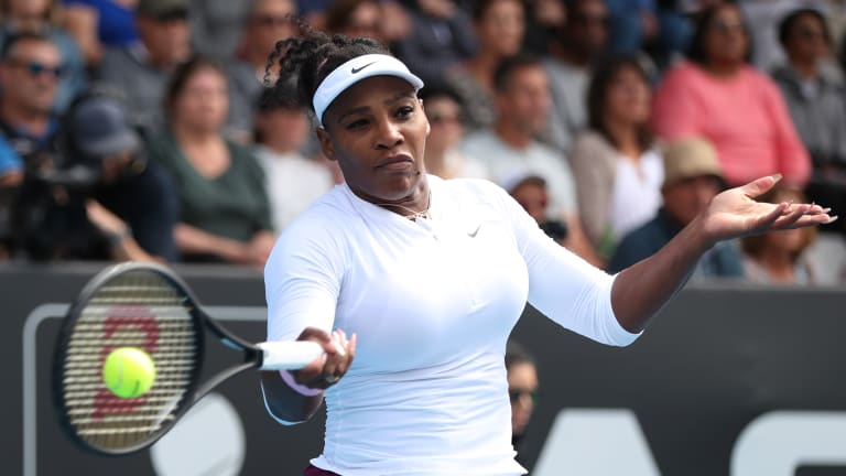 Serena cruises to victory in 2020 debut from Auckland