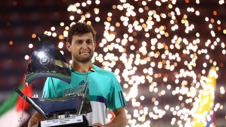Aslan Karatsev continues meteoric rise, captures ATP Dubai title