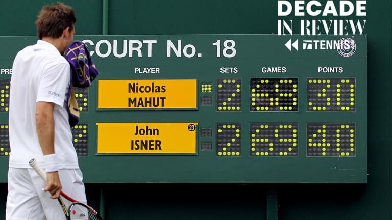 Men's Match of the Decade No. 6: Isner d. Mahut, 2010 Wimbledon