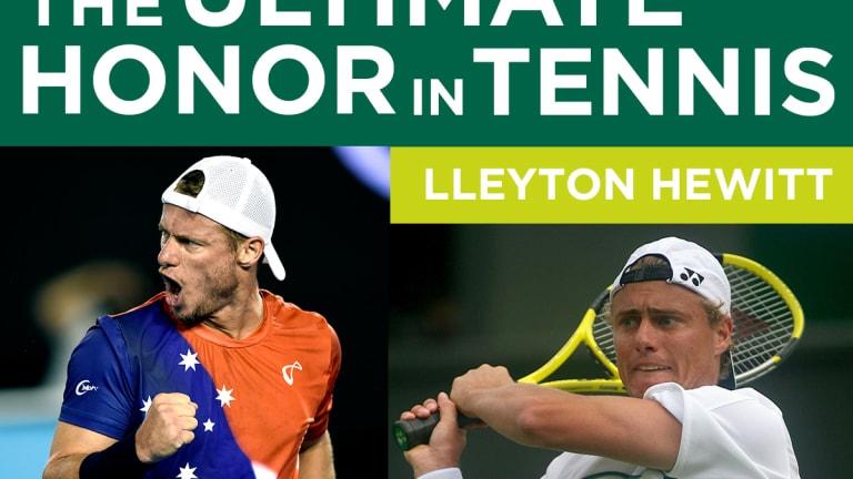 Lleyton Hewitt, Original 9 & Van der Meer get Tennis Hall Of Fame nods