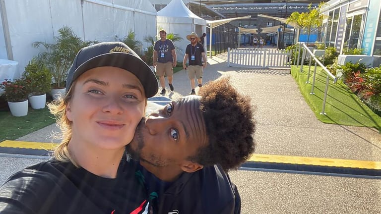 Svitolina and Monfils will tie the knot come mid-July.