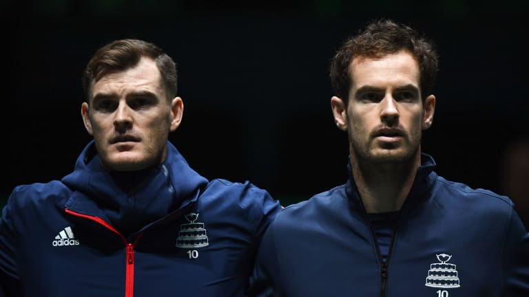 Battle of the Brits: Jamie and Andy Murray to compete in six-day event