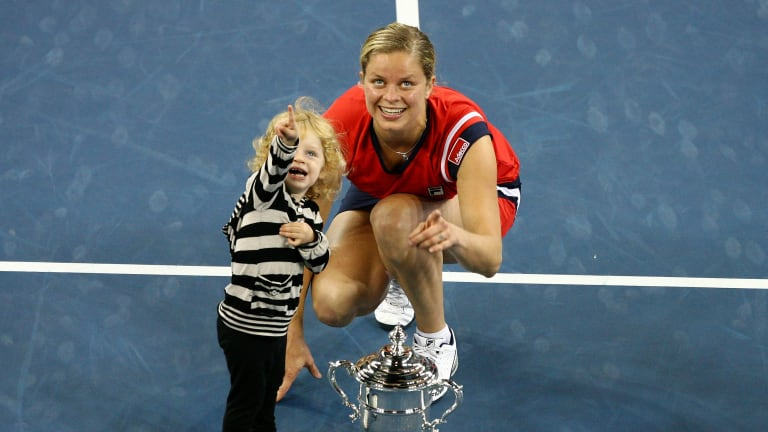 TBT, 2007: Kim Clijsters steps away from the WTA... for the first time