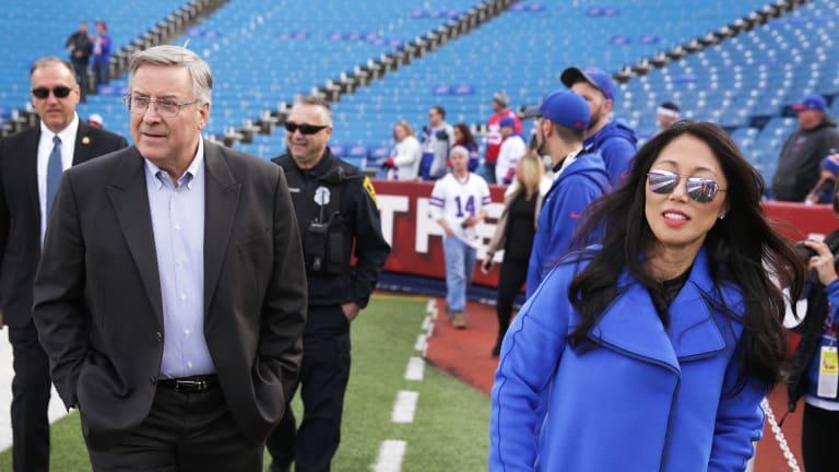 Bills Mafia in Melbourne: Buffalo's Jessie Pegula cheers on from afar