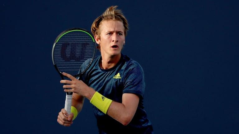 His parents big on baby steps, Sebastian Korda enjoys first Top 10 win