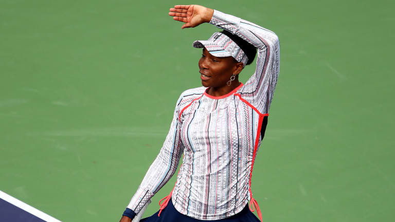 Resilient Venus digs deep to claim spot in Indian Wells fourth round