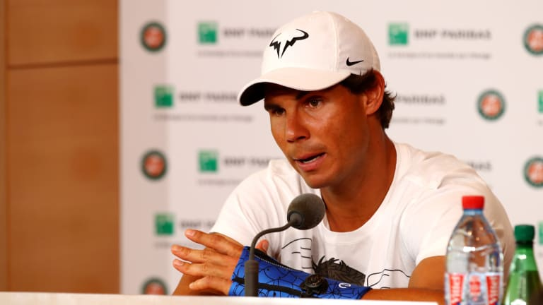 Nadal brings down curtain on unique Roland Garros in the right spirit