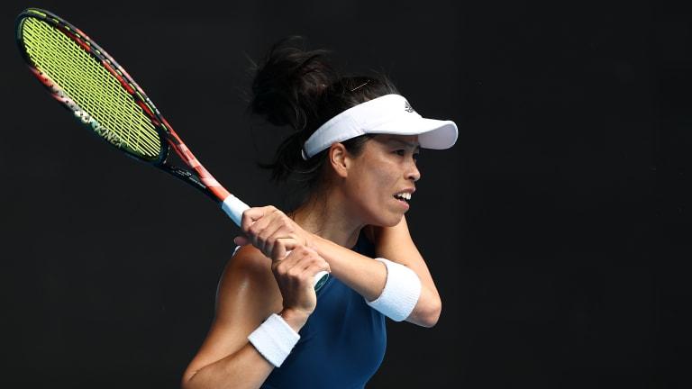 Hsieh Su-Wei chops up Vondrousova to reach first Grand Slam singles QF