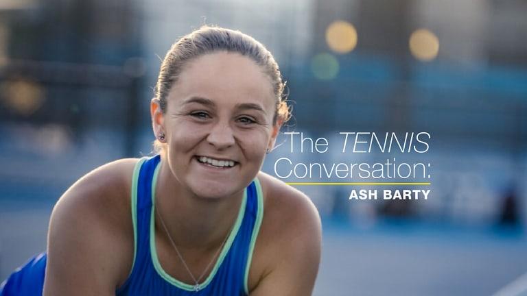 The Tennis Conversation: World No. 1 Ashleigh Barty