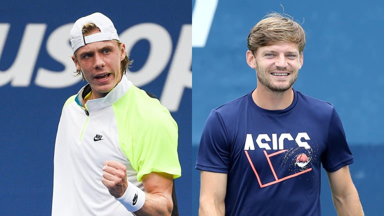 US Open ATP Match of the Day: Denis Shapovalov vs. David Goffin