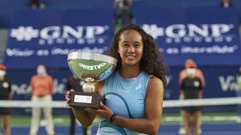 18-year-old Leylah Fernandez captures first WTA title in Monterrey