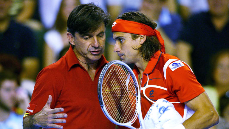 Coaching in the Bigs: Emilio Sanchez on Spain's tennis mentality