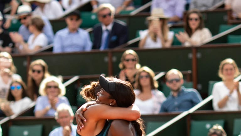 Sloane Stephens subtly defused Madison Keys in French Open semifinals