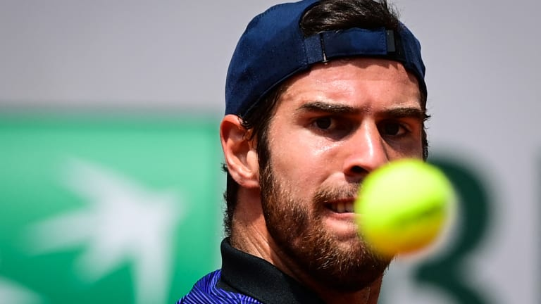 Khachanov has exceptional firepower from the ground, as well as an intermittently explosive serve. But mentally he may not be as strong.
