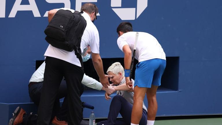 Top Moments of 2020: Novak Djokovic's shocking US Open exit by default