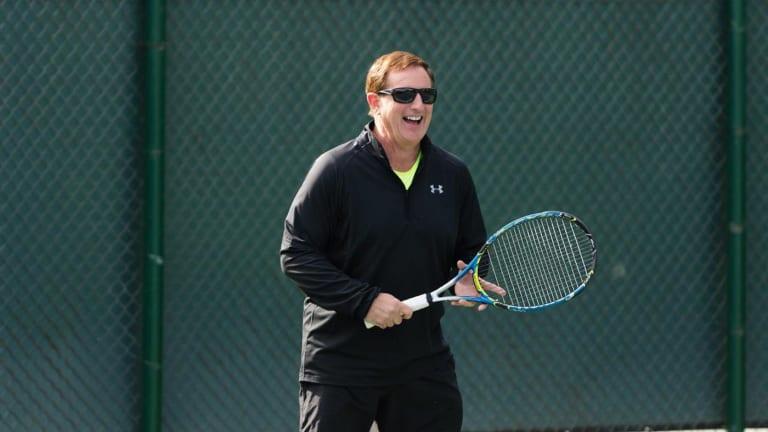 Baylor alum Mark Hurd is helping lead Oracle's U.S. tennis vision