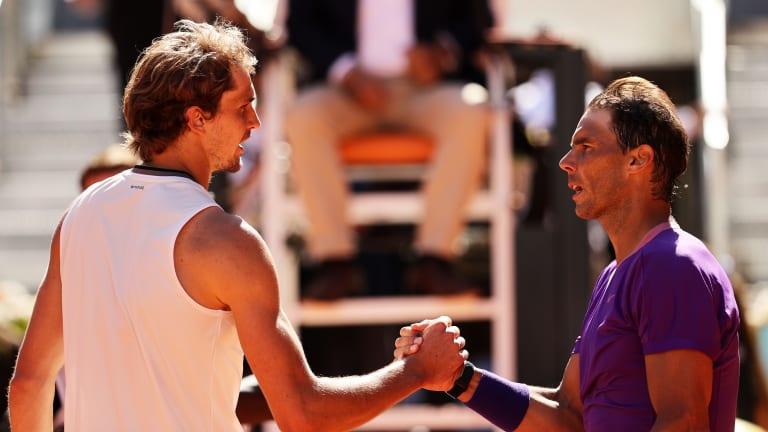 Alexander Zverev shocks Rafael Nadal to advance in Madrid stunner