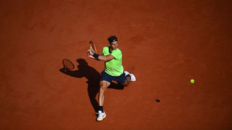 Nadal defeated Jannik Sinner in Paris for a second straight year (Getty Images).