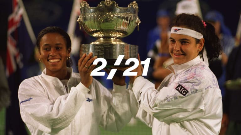 The 2/21: Davenport and Rubin ruminate on their 1996 Aussie Open final