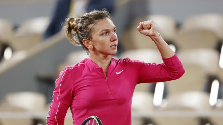 Halep's perfectionism helps her table-turn win over Anisimova in Paris