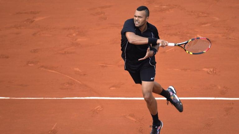 Tsonga holds a career 28-11 mark at Roland Garros.
