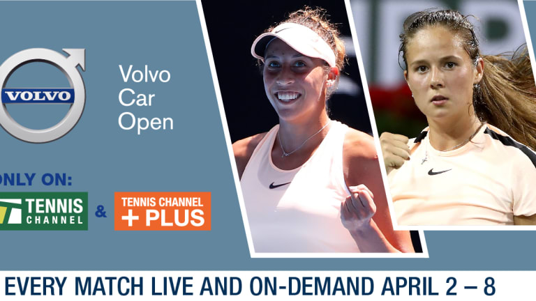 Caroline Garcia routs Varvara Lepchenko in Charleston opener