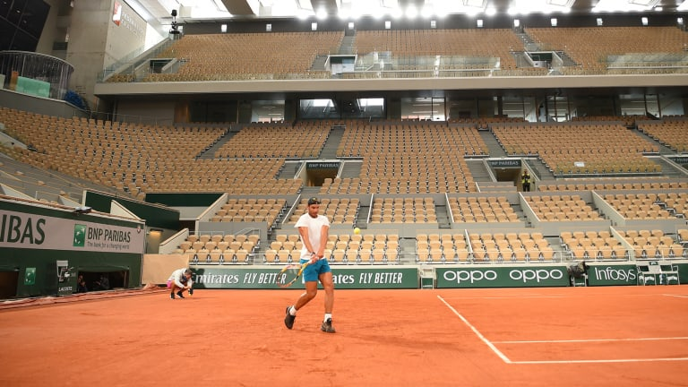 UPDATE: Only 1,000 fans permitted to attend Roland Garros each day