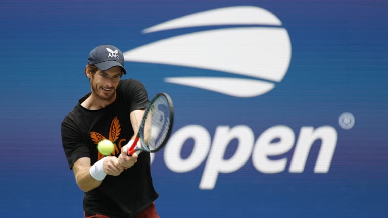 Murray is one of three former US Open men's champions in the field this year, along with Djokovic and Marin Cilic.