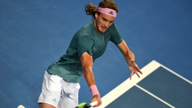 For Tsitsipas, tennis is as much about learning as it is about winning