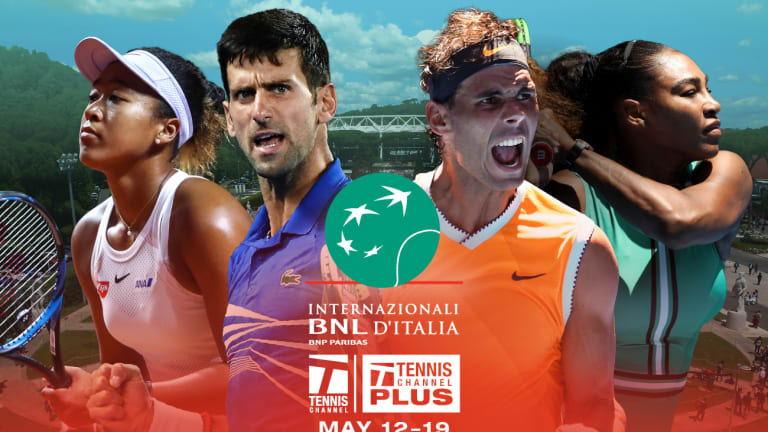 Novak survives to set up dream final in Rome: Nadal vs. Djokovic LIV
