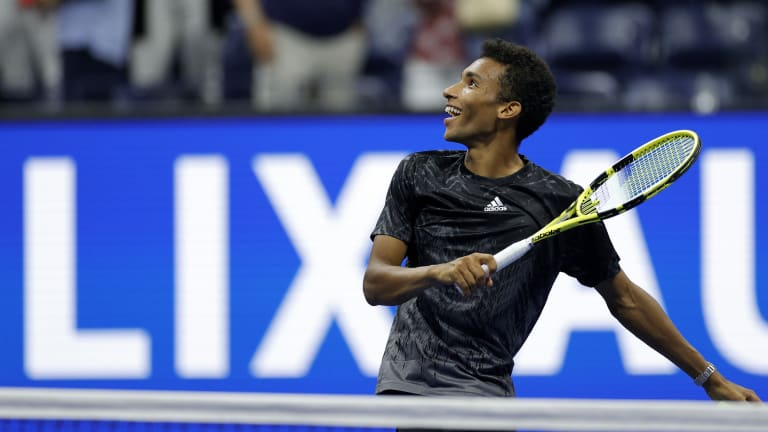 Auger-Aliassime has already reached eight ATP finals in his young career, and first broke through at the majors with a Wimbledon quarterfinal run.