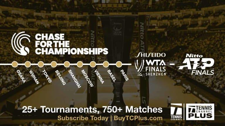 Svitolina returns to WTA Finals championship match as Bencic retires