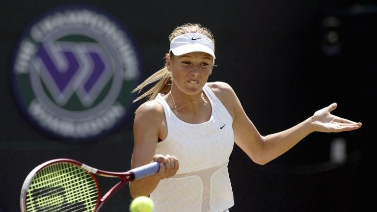 WTA standouts hit  grass running in  Wimbledon debuts