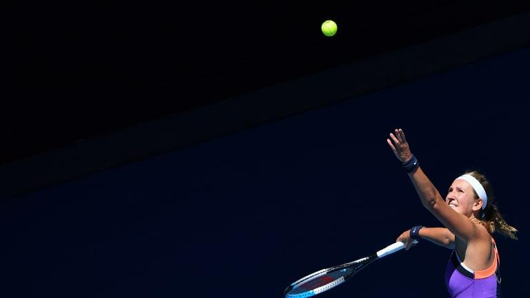 Azarenka, Ostapenko triumph in Doha; teen Tauson stuns in Lyon