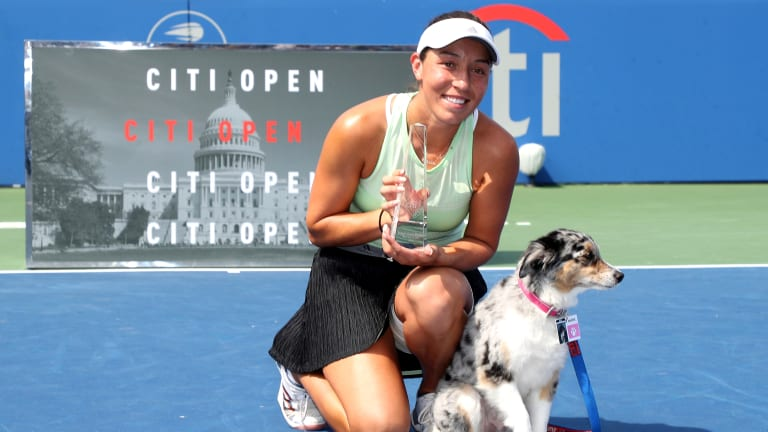 After first WTA title in D.C., Jessica Pegula has sights set on Top 50