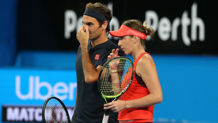 Bencic plans to  celebrate birthday  with Federer return