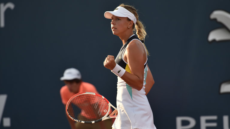 Martic, Kontaveit hold off strong challenges to set Palermo showdown