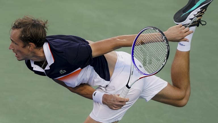 Top 5 Photos, August 16: Osaka suffers knee injury; Medvedev stays hot