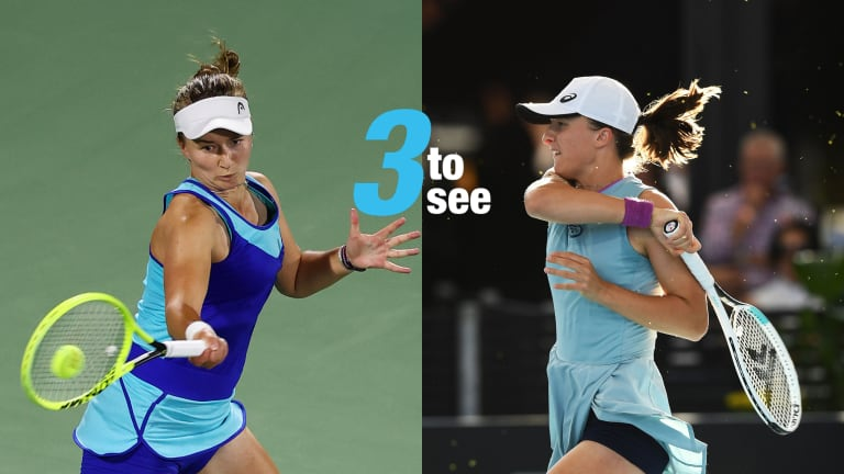 Three To See: Swiatek-Krejcikova, Gauff-Sevastova open Miami round two