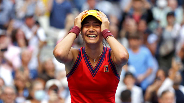 Canu Believe It? On her third championship point, Raducanu closed out an improbable US Open.