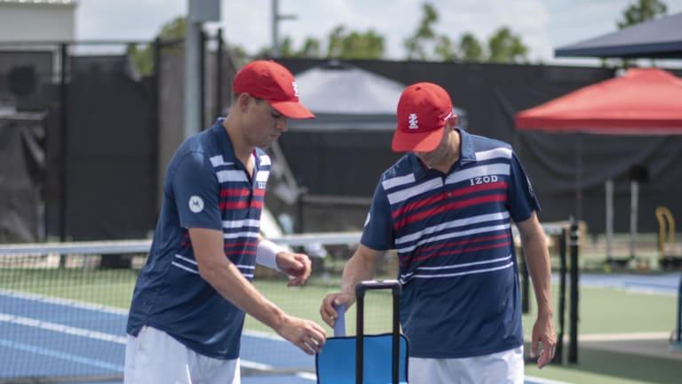 Slinger takes major  swings at evolving  the game of tennis