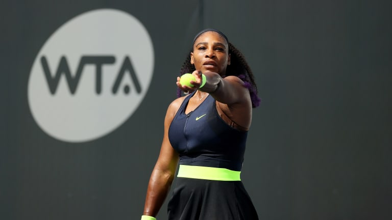From Houdini act to routine win: Serena Williams is officially back