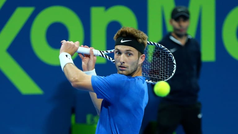 Doha rain leads to packed Friday schedule featuring Wawrinka, Rublev