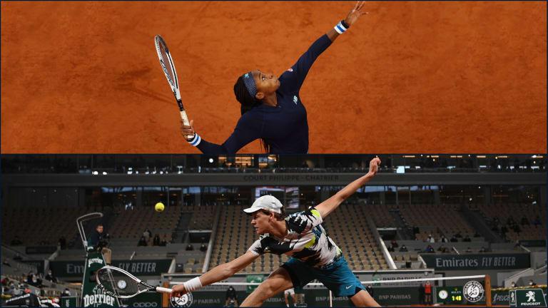 Teens Sinner, Gauff record first main-draw victories at Roland Garros