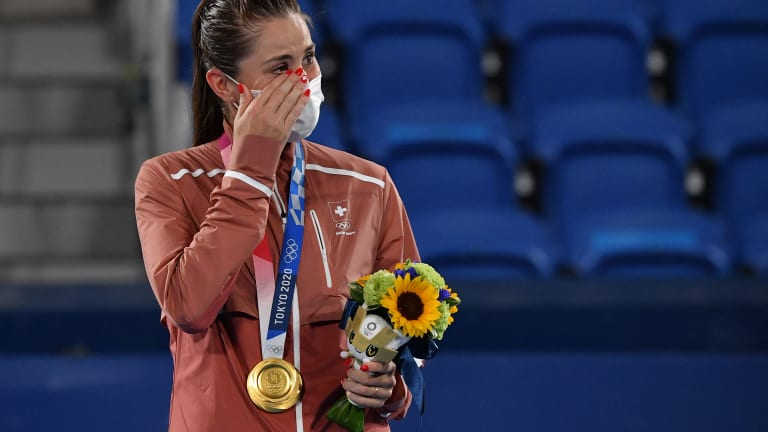 Bencic captured her biggest win to date at the Tokyo Olympics.