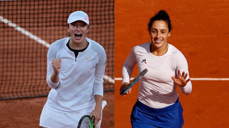 Fresh Energy > Star Power: Iga Swiatek's and Martina Trevisan's upsets